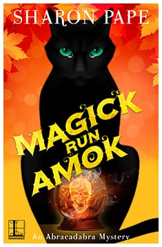 cover MAGICK RUN AMOK